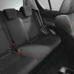 zadní sedadla Suzuki Swift Sport