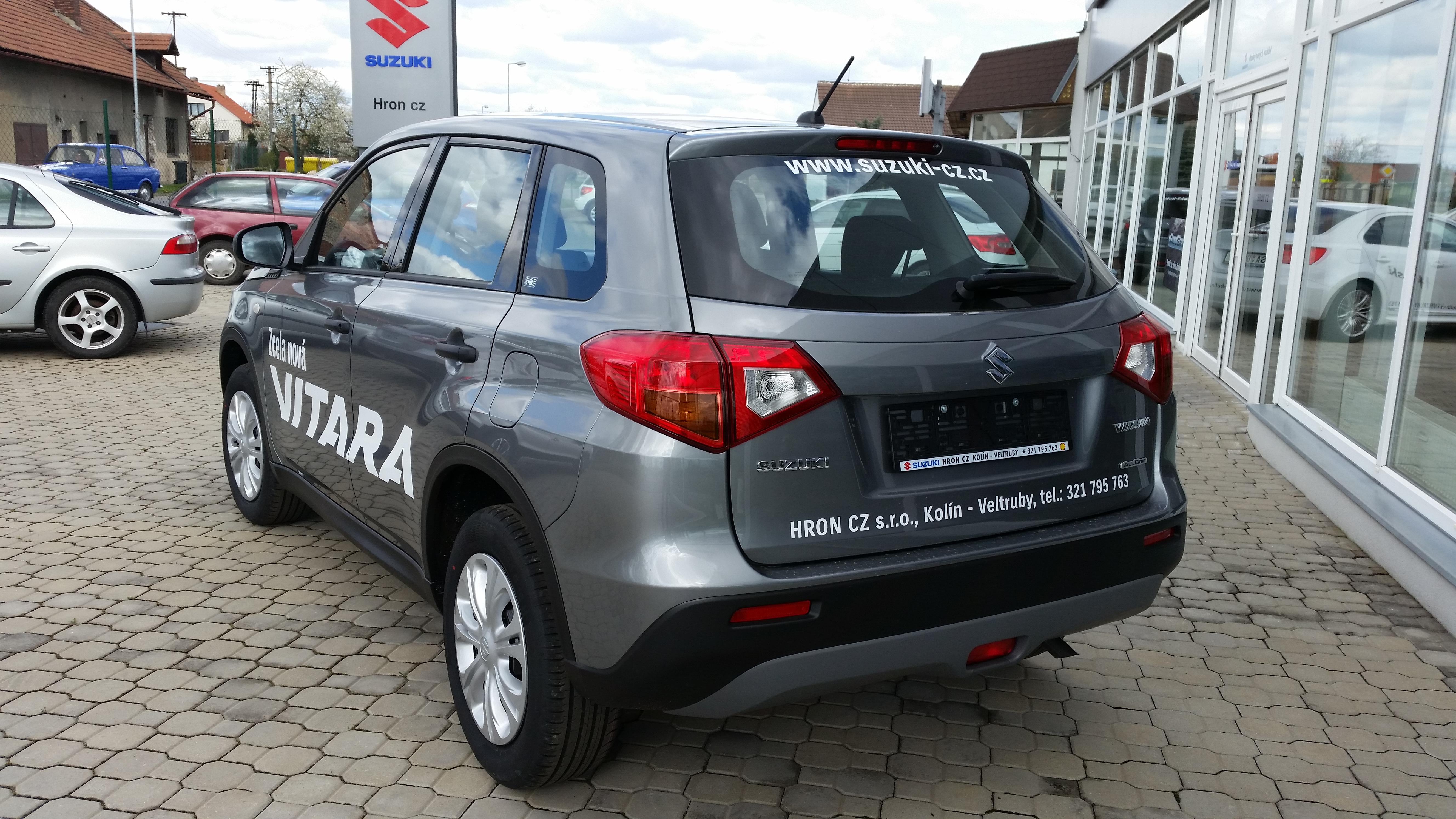 Suzuki nová Vitara 4x4 AllGrip
