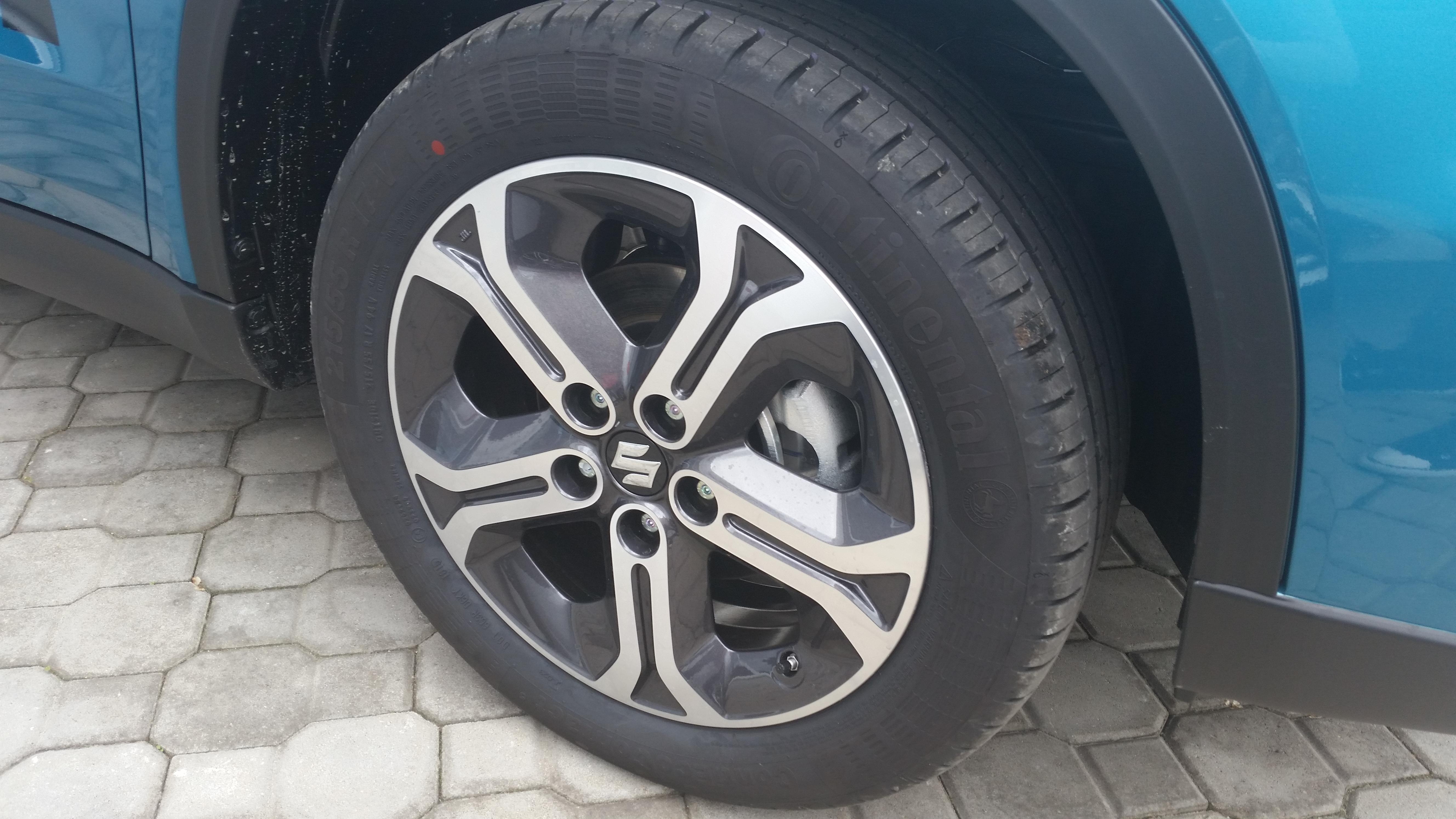 hliníkový disk Suzuki nová Vitara Elegance1,6