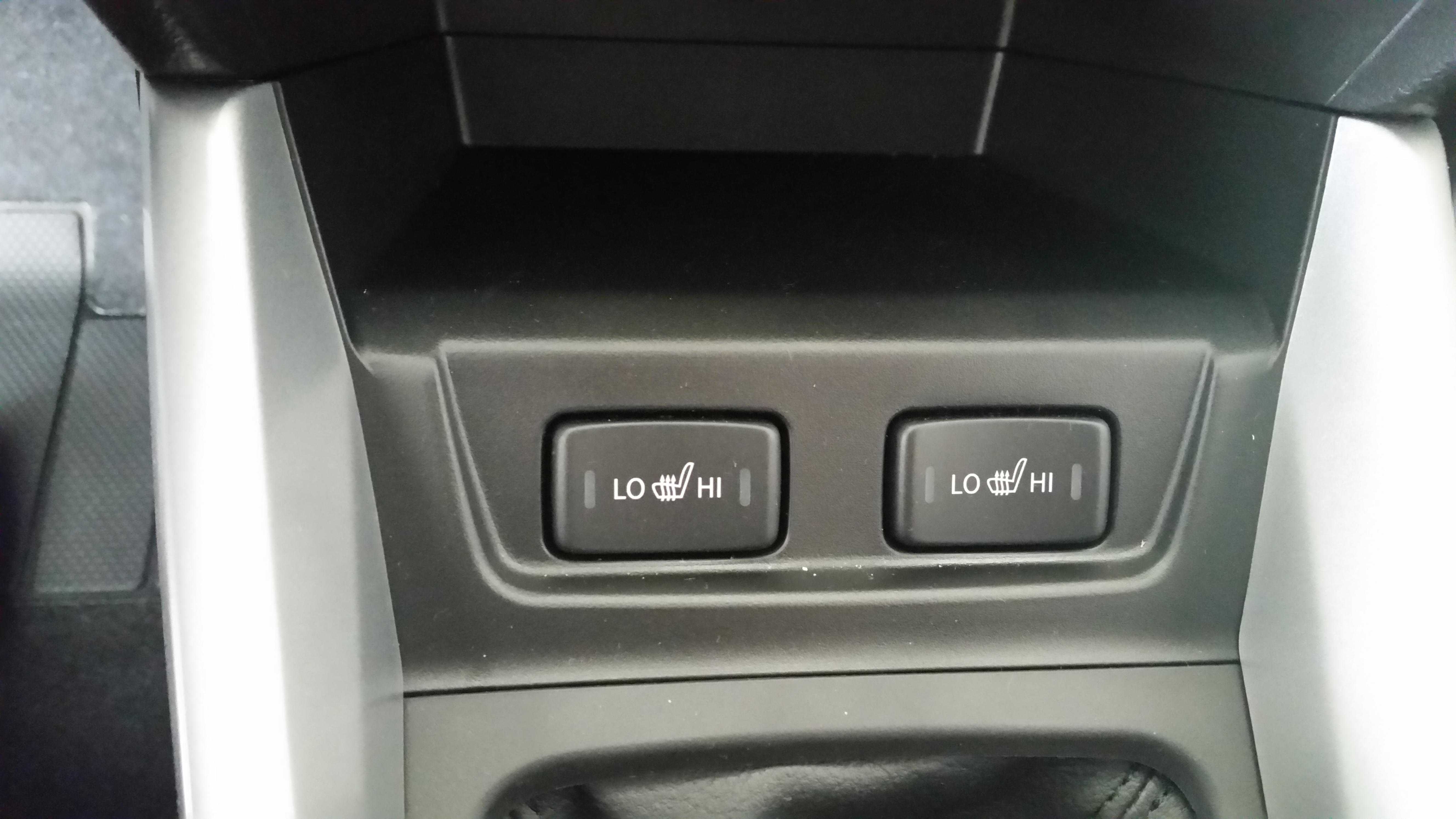vyhřívaní sedaček nová Suzuki Vitara